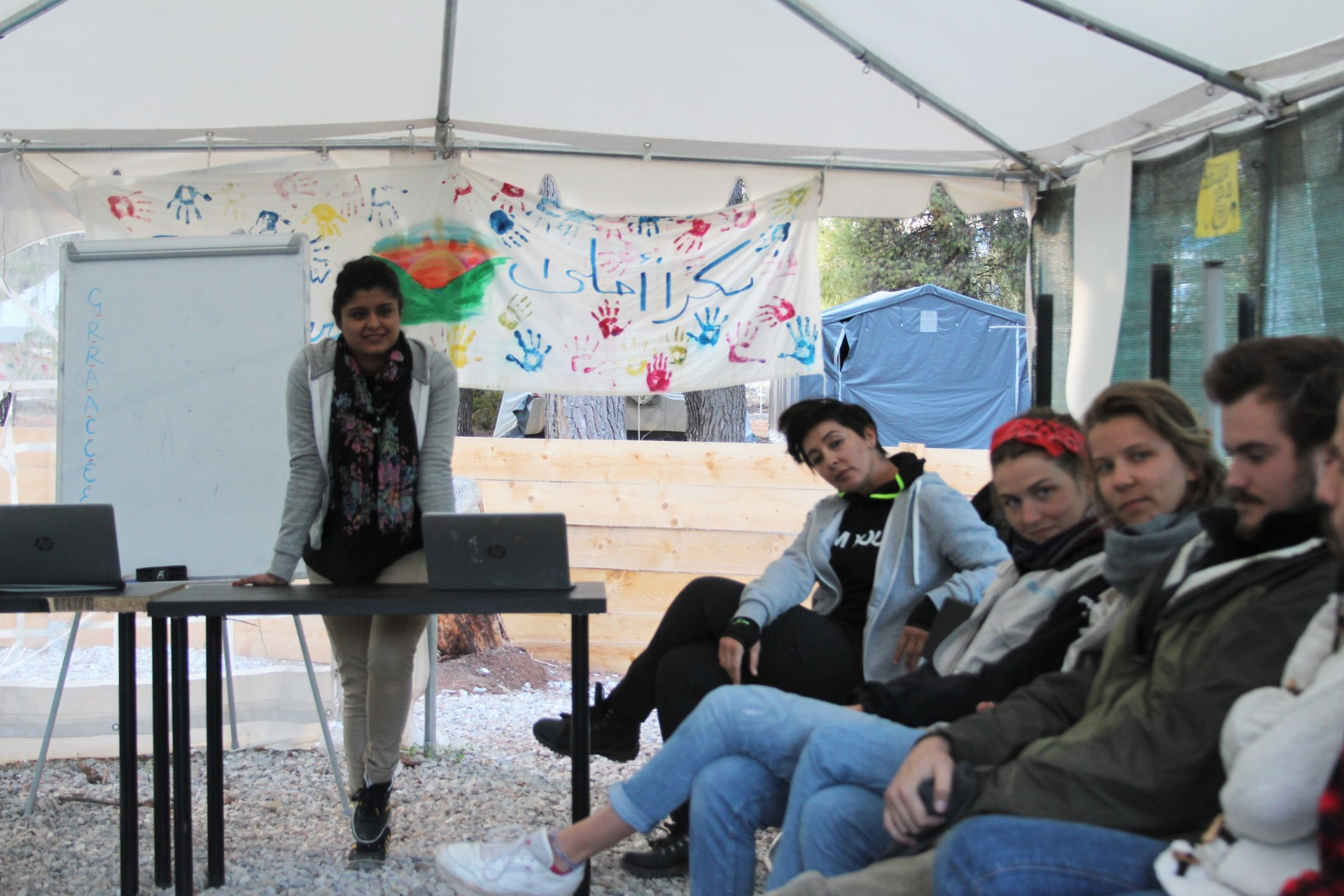 """Working with refugees"" training for volunteers"